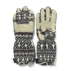 If you've got a lot of money to blow on a pair of gloves then White Mountaineering is your brand!! $305
