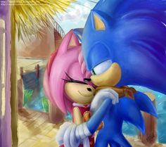 Sonamy boom. little hug by Dasha1Blaze on @DeviantArt