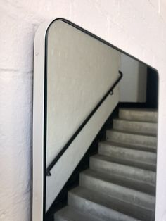 Bespoke Rectangular Silver Mirror with a white frame  Contact us for a bespoke size or bespoke finish Blue Mirrors, Console Table, Bespoke, Brass, Elegant, Silver, Design, Home Decor, Taylormade