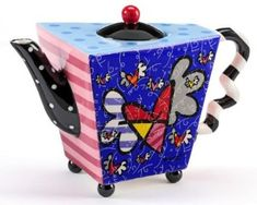Romero Britto Teapots – Do NOT Miss Out! - Stove Top Kettles