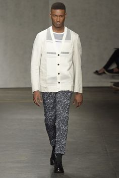 Casely-Hayford Men's RTW Spring 2015 [Photo by Giovanni Giannoni]