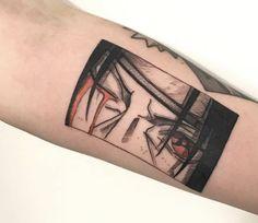 Red Ink Tattoos, Weird Tattoos, Mini Tattoos, Body Art Tattoos, Sleeve Tattoos, Cool Tattoos, Tatoos, Naruto Tattoo, Manga Tattoo