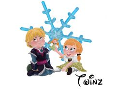 Young love - Kristoff And Anna From Disney Frozen by WitchyTwinzy on DeviantArt