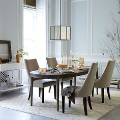 "Starburst Expandable Dining Table #westelm  on sale 499.99 seats 6 at 72"" then expands to seat 8 with a leaf."