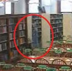 The Willard Library, Evansville, Indiana - This library is reportedly haunted by a number of spirits and streams live video from three rooms; this spirit is known as The Grey Lady