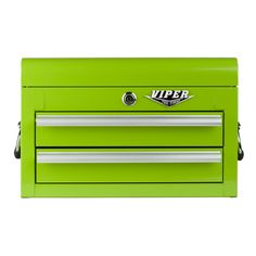 The Original Pink Box – 18-Inch Lime 2 Drawer Chest