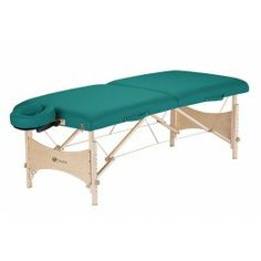 The massage table HARMONY manufactured by Earthlite is an eco friendly massage bed offering a good quality massage couch at low price.