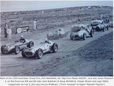 1955 Australian Grand Prix, Port Wakefield, South Australia. Won by Jack Brabhams Cooper Bristol 'Bobtail'...
