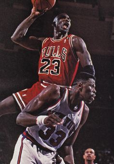 Michael Jordan over Patrick Ewing