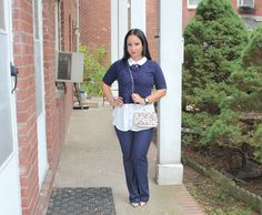 One Of Pantone Top 10 Colors for Fall 2017 Is Navy Peony Which Is No Other Than The Classic Navy Blue. Wear This Inky Blue Outfit To Any Event This Fall!