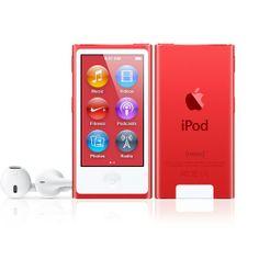 Product Red iPod nano - Buy new iPod nano with Free Shipping - Apple Store (U.S.)