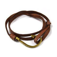 Miansai Nautic bracelets leather Fish Hook Bracelets for Men Women Sea hook Nautical bracelets & bangles Paracord pulseras mujer