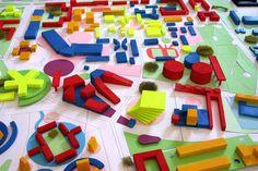 1 Master Plan, Urban Design, Blog, Miniatures, Kids Rugs, Factories, Projects, Models, Pattern
