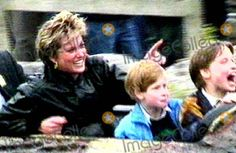Princess Diana with Prince Henry and Prince William Enjoying a Day Out at Thorpe Park Theme Park 13/04/93 -Paul Burrell Talks to Fiona Bruce About His New Book 'a Royal Duty' 10/28/2003 Supplied By:alpha/Globe Photos, Inc 2003