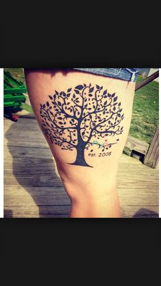 Soo pretty, want to add this to my tree tattoo plan