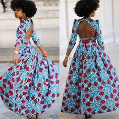 Ankara fabric continues to maintain a trend we just can't help but love, hence…