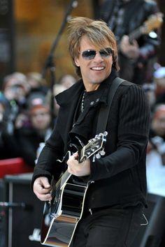 Bon Jovi rocks the Today show - Bon Jovi will forever be hot!