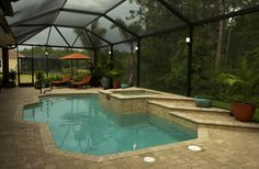 Lanai Light Gallery | Lanai Lighting Images | Low Voltage Deck Lighting | Outdoor Lighting Florida | The Light King Naples/ Fort Myers Florida