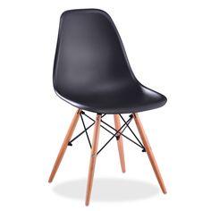 La chaise WOODEN est un des modèles les plus populaires en ce qui concerne le design d'avant garde du dernier siècle. Style, élégance et commodité se réunissent pour donner une touche différente a votre salon ou bureau.  Le dossier en polypropylène avec accoudoirs incorporés a la structure même s'adapte parfaitement à votre corps et la base des pieds en bois est très résistante et de grande robustesse.  La combinaison de ces matériaux la convertit en une chaise très durable. Profitez d'un…