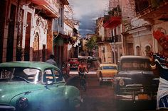 Old Havana...we were engaged here. Amazing place.