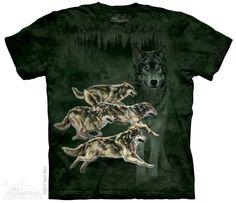 The Mountain - Wolf Runner T-Shirt, $20.00 (http://shop.themountain.me/wolf-runner-t-shirt/)