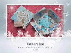 Exploding Box - Cards Of Your Dream