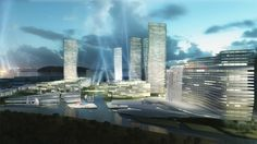 Wuxi+Masterplan:+Mixed+Use+Building+Complex+Proposal+/+ATENASTUDIO
