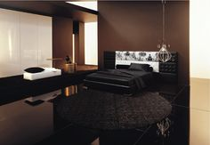 Modern-Brown-And-Black-bedroom-Designs-84.jpg (500×347)