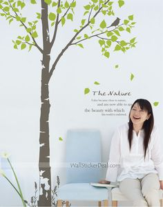 The Nature Tree Wall Decals