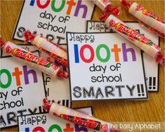 100th day of school FREEBIE!