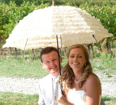 shade for the bride.