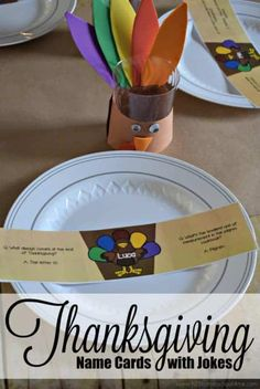 Thanksgiving Jokes For Kids, Thanksgiving Name Cards, Free Thanksgiving Printables, Water Games For Kids, Indoor Activities For Kids, Family Activities, Outdoor Activities, Summer Fun List, Summer Kids