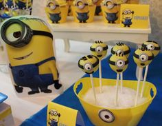 Despicable Me / Minions Birthday Party Ideas | Photo 2 of 10