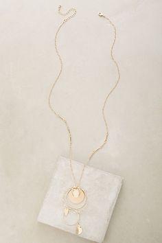 Chakra Pendant Necklace #anthropologie
