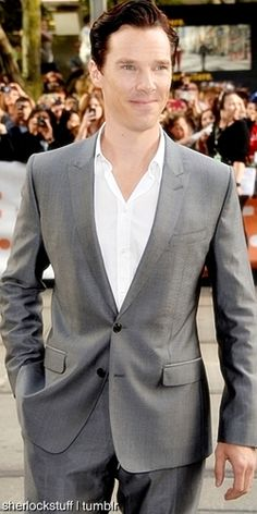 Benedict Cumberbatch--sometimes he is just too good-looking to be believed!