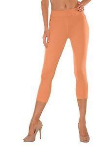 Bequem und supersexy! Buffalo Leggings im Jeans look in Orange Größe 36/38 NEU | eBay