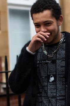 On the Street…..In Line at J.W. Anderson, London « The Sartorialist Sept 2013
