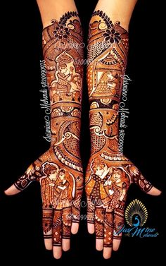 Arabic Mehendi Designs - Check out the latest collection of Arabic Mehendi design ideas and images for this year. Arabic mehndi designs are the most fashionable and much in demand these days. Easy Mehndi Designs, Latest Mehndi Designs, Latest Bridal Mehndi Designs, Legs Mehndi Design, Indian Mehndi Designs, Mehndi Designs For Girls, Wedding Mehndi Designs, Mehndi Design Pictures, Beautiful Mehndi Design