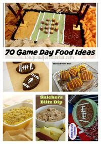 Game Day Football Food Ideas