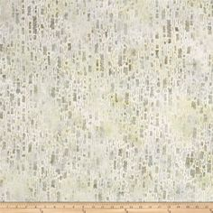 Kaufman Artisan Batiks Texture Study Digital Pond from @fabricdotcom  Designed by Lunn Studios for Kaufman Fabrics, this Indonesian batik is perfect for quilting and craft projects as well as apparel and home décor accents. Colors include shades of green with grey accents.