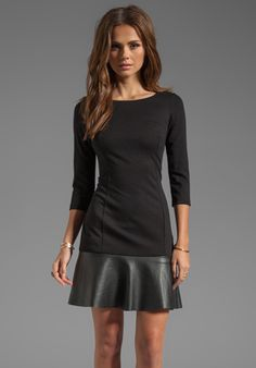 BAILEY 44 Spin Doctor Drop Waist Dress in Black at Revolve Clothing - Free Shipping!