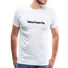 The National Freedom Day | American Flag Apparel Suits You, American Flag, Outfit Of The Day, Sleeves, Mens Tops, Collection, Charcoal Gray, Products, Heather Gray
