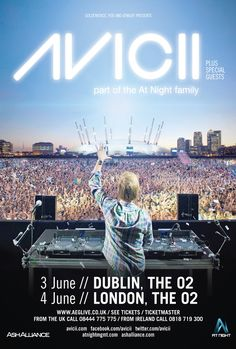 22-year-old Swedish megastar AVICII is, without question, the biggest DJ on the planet at this moment in time. Having recently headlined the world famous Ultra Mainstage with none other than Queen of Pop MADONNA, he truly has arrived at nothing less than GOD status in just two short years...