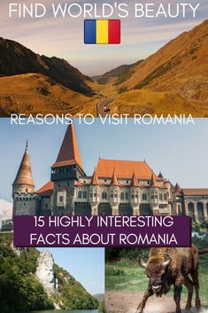 15 Interesting facts about Romania to inspire your wanderlust - Find World's Beauty European Vacation, European Travel, Vacation Spots, Travel Around Europe, Europe Travel Tips, Budget Travel, Travel Guide, Romania Facts, Montenegro Travel