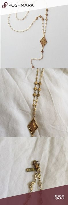 [Vanessa Mooney] my cherie rosary necklace Amazing Vanessa Mooney piece. Great layered or worn alone. Rosary necklace. Will ship with original VM packaging. SOLD OUT item, last seen at Revolve for 80$ Vanessa Mooney Jewelry Necklaces