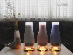 Lumir C: Candle Powered LED Lamp. project video thumbnail