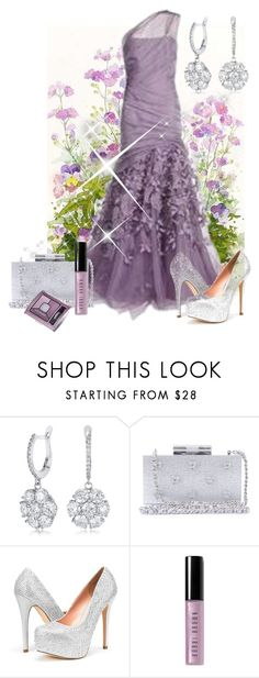"""Beautiful Spring contest"" by empathetic ❤ liked on Polyvore featuring Monique Lhuillier, Katherine Kwei, Bobbi Brown Cosmetics and Bourjois"