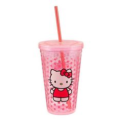 Hello Kitty Acrylic Travel Cup $7.99