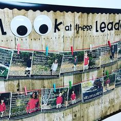 Leader in Me Board with Leadership Traits & Quotes by @teachmemrsz