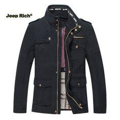 Only US$67.16 , shop Jeep Rich Size S-5XL Men Outdoor Autumn Cotton Blend Zipper Warm Coat Jacket Outwear at Banggood.com. Buy fashion Coat online.